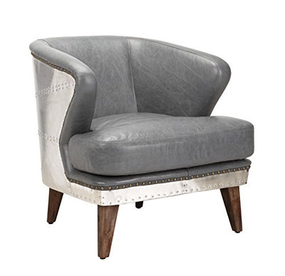 Moe's Home Collection Cambridge Club Chair, Antique Gray