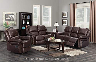 Sunset Trading Glorious Recliner, Regal Brown
