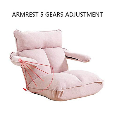 HELLEN Small Apartment Bay Window Tatami Creative Bed Back Chair Folding Lazy Sofa Recliner Armrest Design Z-2020-9-11