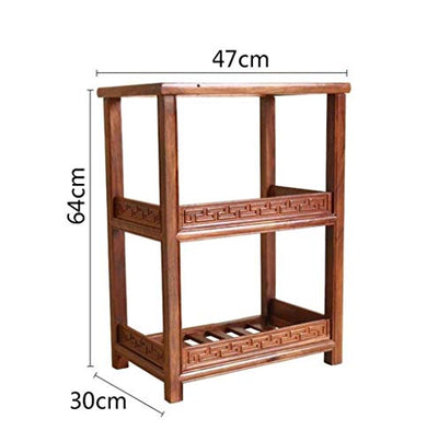 LSNLNN Flower Stands,Plant Stand Shelf Multilayer Storage Tea Table Flower Pot Holder Multifunction for Outdoor Indoor Balcony