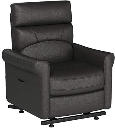 Traditional Power Reclining Lift Chair, Charcoal
