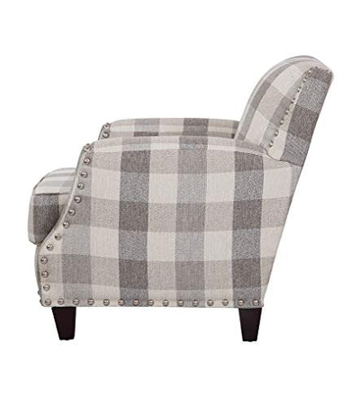 Grafton Holland Pewter Accent Chair