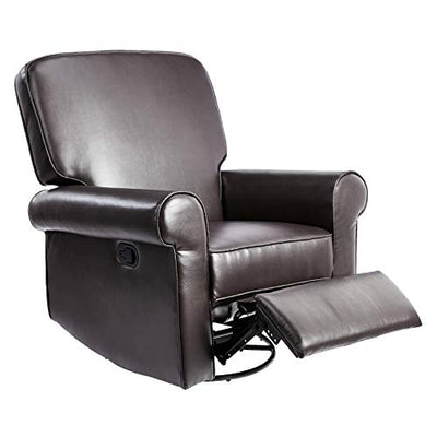 JC Home Swivel&Glider recliner, one size, Brown