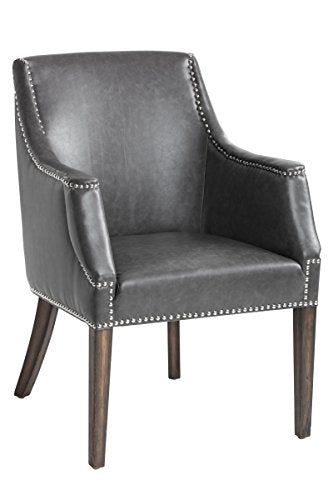 "Sunpan 5West Occasional Chairs, 26.5"" x 25.5"", Grey"