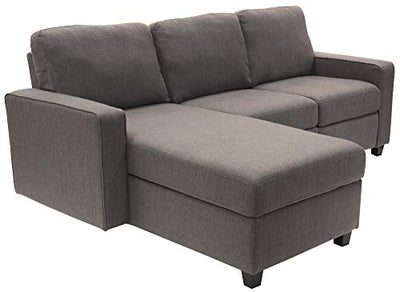 Serta Palisades Reclining Sectional with Left Storage Chaise - Gray