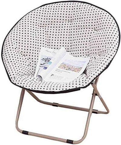 Aoyo Deckchairs Armchair Deck Chair Folding Chair Sunbed Chair Moon Chair Radar Chair Lunch Break Portable (Size: 2),Size:3 (Size : 1)