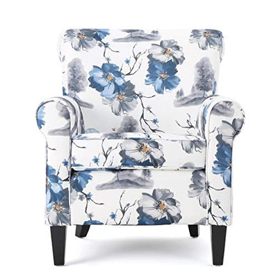 Christopher Knight Home Roseville Fabric Club Chair, Floral Print