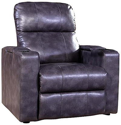Pulaski Larson Power Recliner with USB and STO, Magnetite
