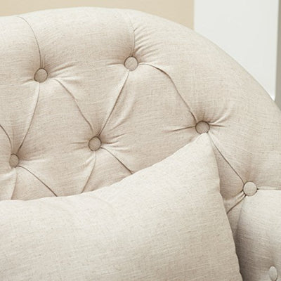 Christopher Knight Home Anastasia Tufted Chair, Sand