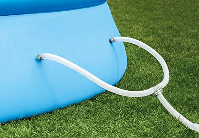Intex 18ft X 48in Easy Set Pool Set with Filter Pump, Ladder, Ground Cloth & Pool Cover