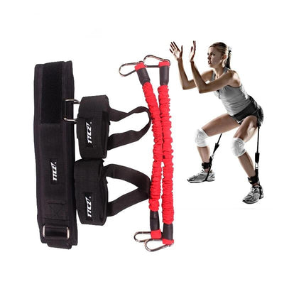 Fitness Bounce Trainer Rope Leg Strength Equipment
