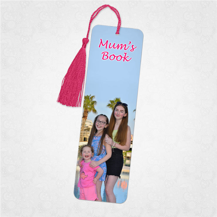Personalised Photo Bookmark - Your own photos and text
