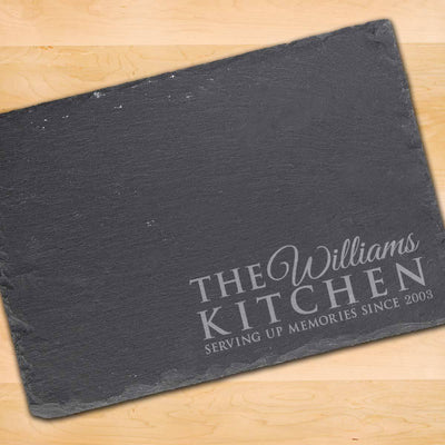 Personalised Slate Placemat - Serving Memories