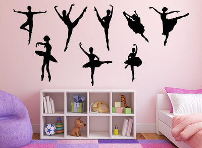 Ballerina Bundle Wall Art Stickers