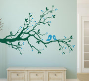 Birds on a tree Wall Art Sticker