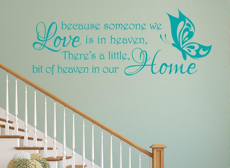 Heaven In Our Home Wall Art Sticker