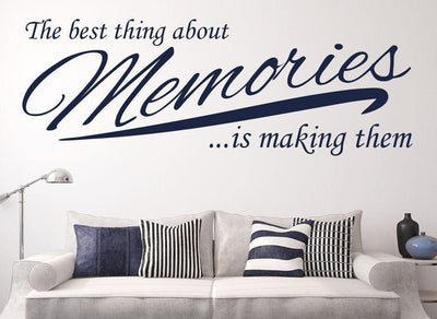 Making Memories Wall Sticker