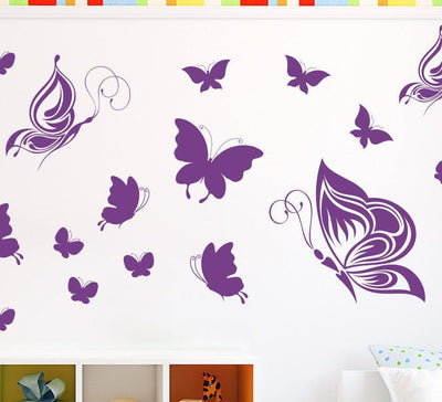 Butterfly Wall Stickers or Ceiling Stickers 20 Pack
