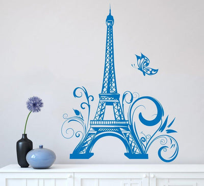 Eiffel Tower Paris Wall Sticker