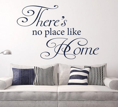No Place Like Home Wall Sticker for Living Area
