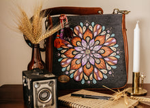 Load image into Gallery viewer, Ethnic Mandala Print Grey Canvas Bag-By Simplicity