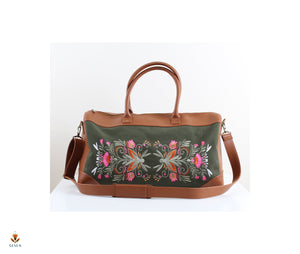 Egyptian Print Duffel Bag