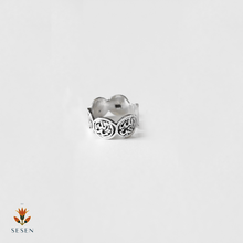 Load image into Gallery viewer, Arabic Calligraphy silver ring