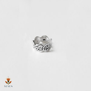 Arabic Calligraphy silver ring