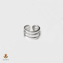 Load image into Gallery viewer, Silver Adjustable Ring