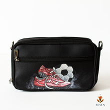 Load image into Gallery viewer, Men's Pouch football print