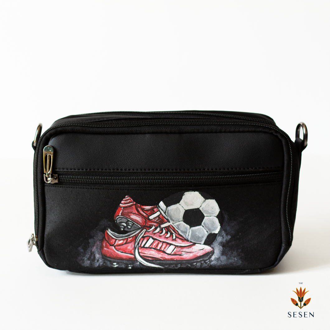 Men's Pouch football print