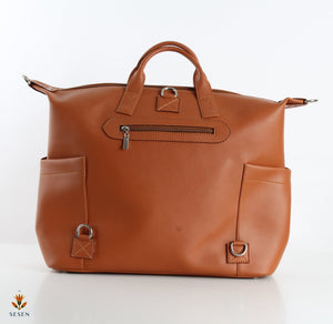 Leather Weekender bags
