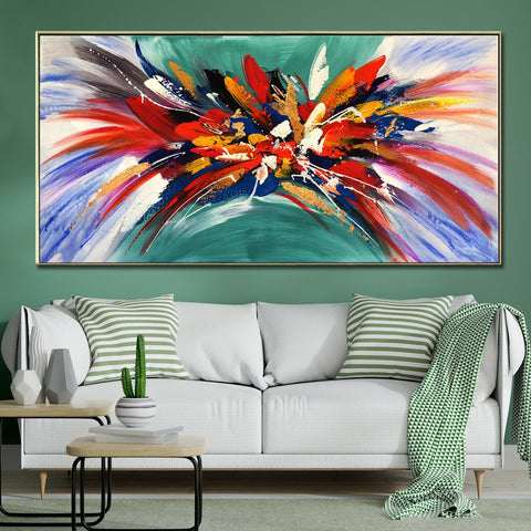 Natures Colour Palette 100% Hand Painted Wall Painting