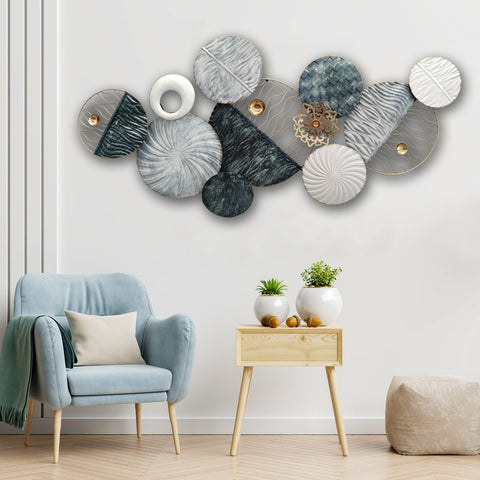 The Coral of the Sea Metal Wall Art Panel
