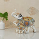 The Agra Royal Elephant Table Decoration Showpiece - Pair