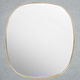 The Paris Classic Oval Decorative Wall Mirror - Golden