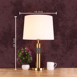 The Midnight Magic Stainless Steel Decorative Table Lamp