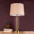 The Golden Mystique Tube Stainless Steel Decorative Table Lamp
