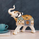 The Jaipur Royal Elephant Table Decoration Showpiece - Small