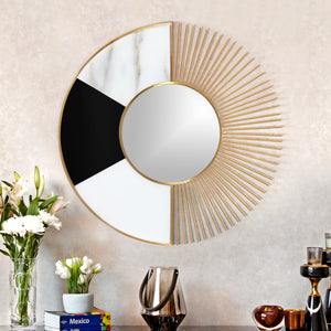 The Twin Face Decorative Wall Mirror
