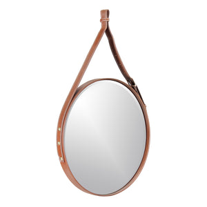 The Leather Belt Decorative Wall Mirror