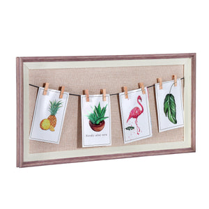 Rectangular Pin up Photo Frame for Wall Decor