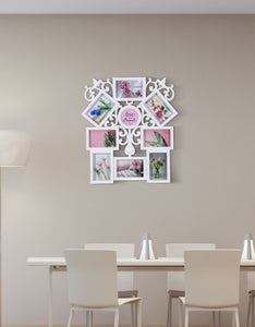 The Family Love Interconnected Photo Frame for Wall Decoration
