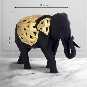 The Royal Elephant Table Decoration Showpiece - Big