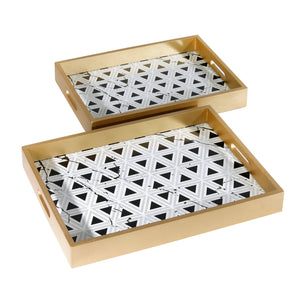 The Geometric Decorative Serving Tray