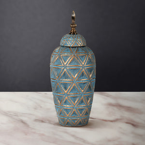 The Rustic Charm Ceramic Decorative Vase - Big