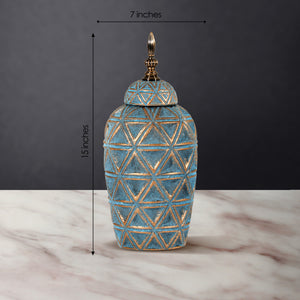 The Rustic Charm Ceramic Decorative Vase - Small