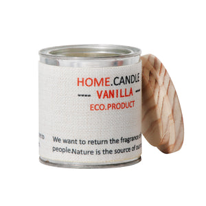 The Home Eco Scented Aroma Candle - Vanilla
