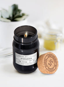 The Craft Brand - Hydrangea Scented Aroma Candle