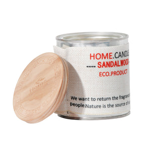 The Home Eco Scented Aroma Candle - Sandalwood